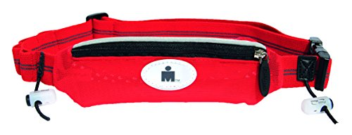 - FuelBelt Ironman Collection Super Stretch Race Waistpack, Red/Black, One Size