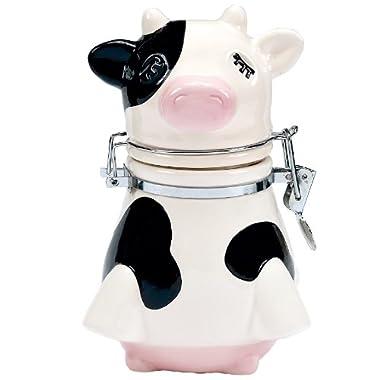 Boston Warehouse Udderly Cows Hinged Storage Jar