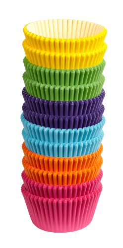 Wilton 300 Count Rainbow Bright Standard Baking Cups