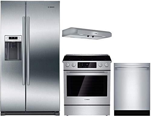 Amazon.com: Bosch – Juego de cocina de acero inoxidable ...