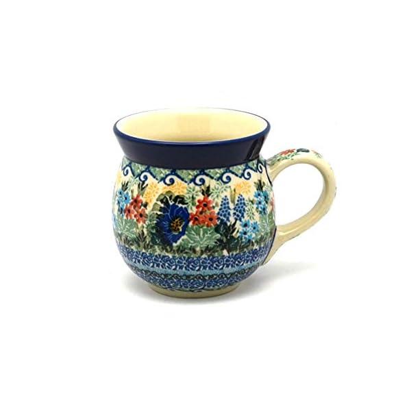 Polish Pottery Mug – 15 oz. Bubble – Unikat Signature U4695