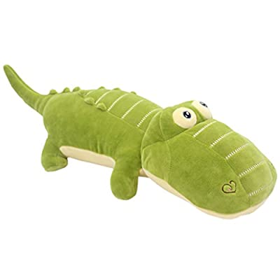 TAGLN Stuffed Animals Alligator Toys Pillows The Crocodile Plush Green 20 Inch: Toys & Games