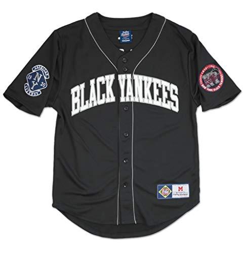York Black Yankees Legacy Jersey 3XL Black