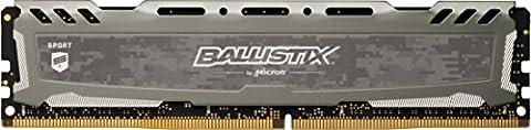 Ballistix Sport LT 8GB Single DDR4 2400 MT/s (PC4-19200) DIMM