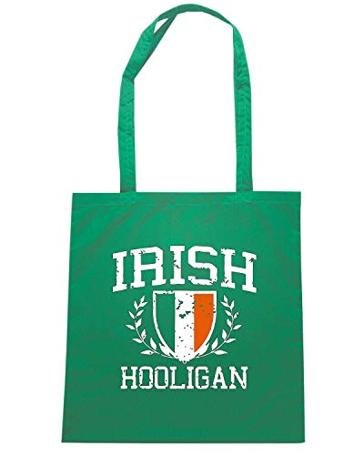 Speed Shirt Borsa Shopper Verde OLDENG00839 IRISH HOOLIGAN