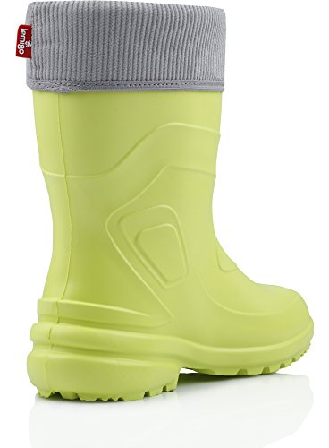 Lemigo Lightweight EVA Thermo Rubber Wellington Boots 800-2017 Lime lvPkLFYqb