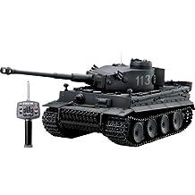 RC Battle Tank - Tiger I (German Gray) (japan import)