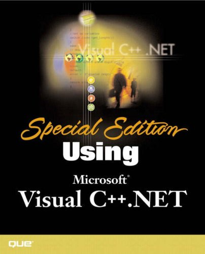 Special Edition Using Visual C++.NET by Brand: Que Publishing