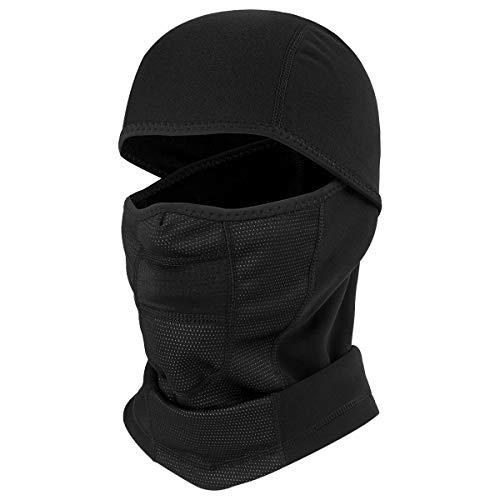 JIUSY Winter Thermal Thick Fleece Balaclava Ski Face Mask Ne