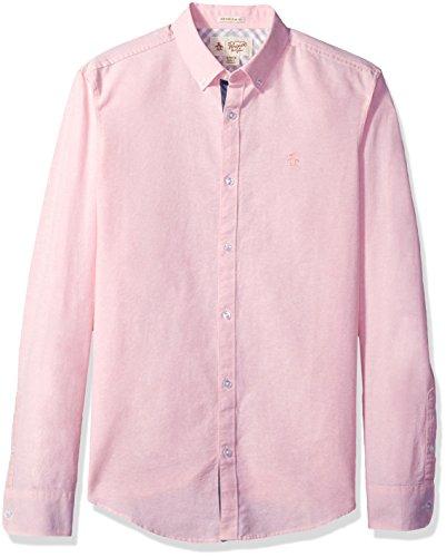 original-penguin-mens-long-sleeve-core-oxford-shirt-pink-icing-xx-large
