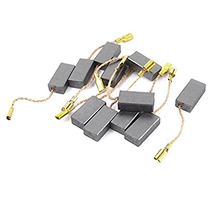 5Pair 15mmx8mmx5mm Sustitución del motor del cepillo de carbón para el compresor de aire - - Amazon.com