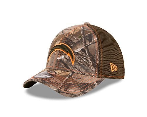 NFL San Diego Chargers Realtree NEO 39THIRTY Stretch Fit Cap, Medium/Large, Realtree Camo