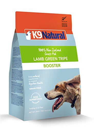 K9 Natural Freeze Dried Booster 7oz Lamb Green Tripe