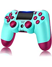 PS4 Controller Wireless Controller for PS4 Playstation 4,Bluetooth Joystick Remote Gamepad for PS4 Dual-Shock 4,with High-precisive D-pad,Touch Panel,Compatible with PS4/Windows/PC/Laptop