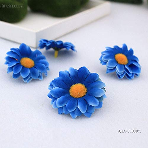 Daisy Gerbera Balloons (10 Pieces Gerbera Daisy Artificial Silk Flower Heads Sunflower Wedding Wall Scrapbook DIY Wreath Gift Box Flowers A25)