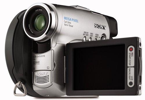 Sony DCR-DVD201E DVD Camcorder - USB2.0, Analogue-In, Widescreen, 1 Megapixel