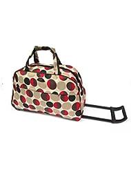 OURBAG Travel Waterproof Luggage Duffel Bag Trolley Wheel Folding Bag Multi-Pattern