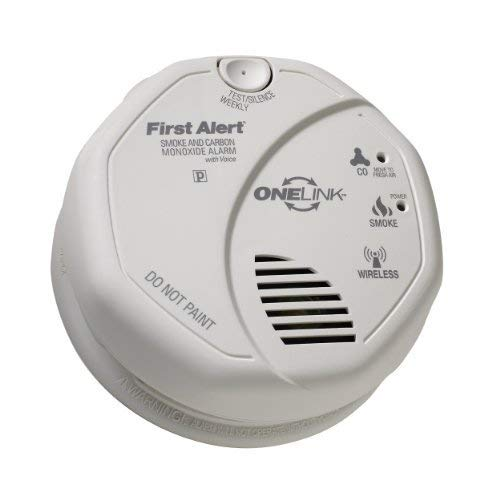 First Alert SCO501CN-3ST  ONELINK Battery Operated Combinati