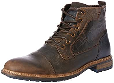 Wild Rhino Men's Clifton Shoes, Dark Brown, 6 AU (40 EU)