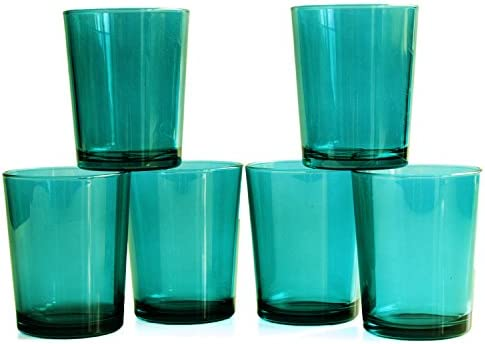 Bormioli Rocco Bodega Sky Blue 14 75 Ounce Water Glass Set Of 6 Kitchen Dining