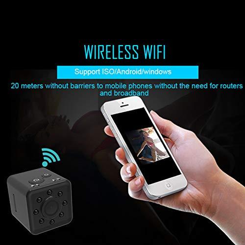 SODIAL SQ13 HD WiFi Mini Cámara Mini Cámara Cámara Cámara Cámara 1080P Video Sensor Visión Nocturna Videocámara Micro Cámaras DVR Grabadora de Movimiento ...
