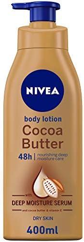 لوشن العناية بالجسم من نيفيا بزبدة الكاكاو للبشرة الجافة سعة 400 مل Amazon Ae