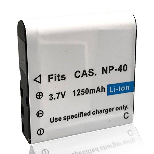 Mattery NP-40 Li-ion Battery 3.7V 1250mAh Rechargeable Batte