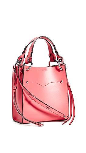 Rebecca Minkoff Women's Kate Mini Tote Bag, Grapefruit, Pink, Orange, One Size