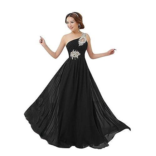 Vestido negro fiesta barato