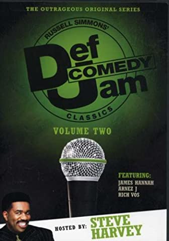 Def Comedy Jam Classics: Steve Harvey (The Steve Harvey Show Dvd)