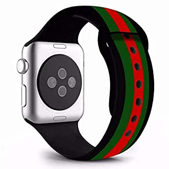 LNKOO Replacement Bands Compatible for iWatch Apple Watch Series 4, Series 3, Series 2, Series 1 Size: 40mm Color: Multi