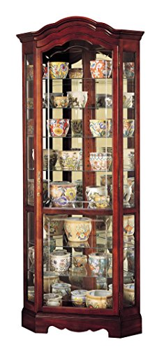 - Howard Miller 680-249 Jamestown Curio Cabinet