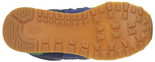 New Balance NBKL574NWP - zapatos Walking Baby Niños Blau (blue/green)