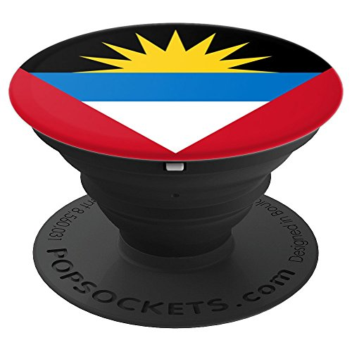 Antigua and Barbuda Flag Pop Socket - PopSockets Grip and Stand for Phones and Tablets from Antigua Gifts