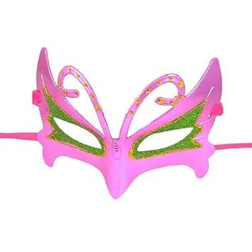 Polvo del Brillo de la Banda de la Cinta Accent Máscara púrpura del oro Verde de