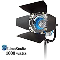 Limo1000 Watt Photo Video Light Head, Film And Television Tungsten Fresnel Continuous Light Spotlight, Agg1028