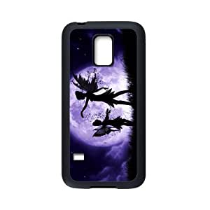 Just for You, Fairies Dancing in the Sky picture for black Plastic and TPU Samsung Galaxy S5 mini case