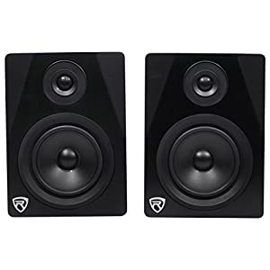 Rockville Apm6b 6.5″ 2-Way 350W Active/Powered USB Studio Monitor Speakers Pair