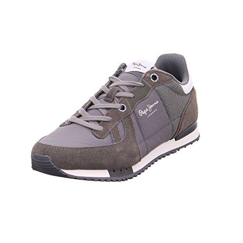 Pepe Jeans London Herren Tinker Bold 17 Sneaker Grau (Grey)