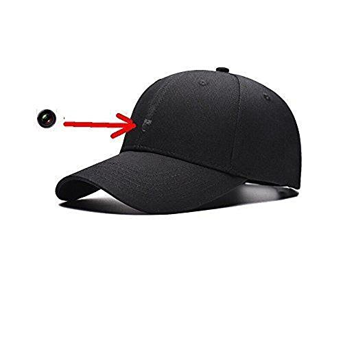 1080P Spy HD Hidden Camera Hat Covert Video Recorder Wireless Control Hat Cap US