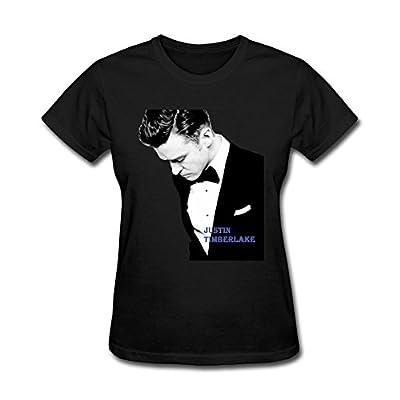 Liyo Woman Justin Timberlake Profile T Shirt