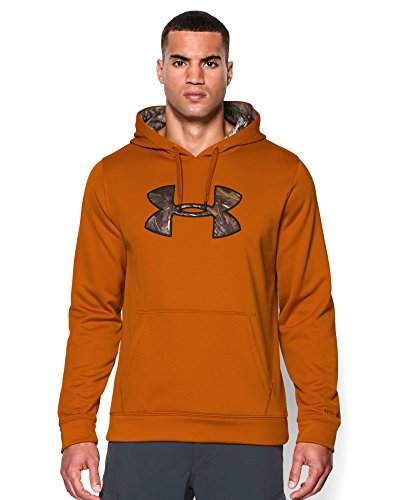 Under Armour Men's Storm Caliber Hoodie, Rodeo Orange, Large