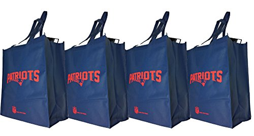 Team Beans NFL New England Patriots PRINTED NON-WOVEN POL...
