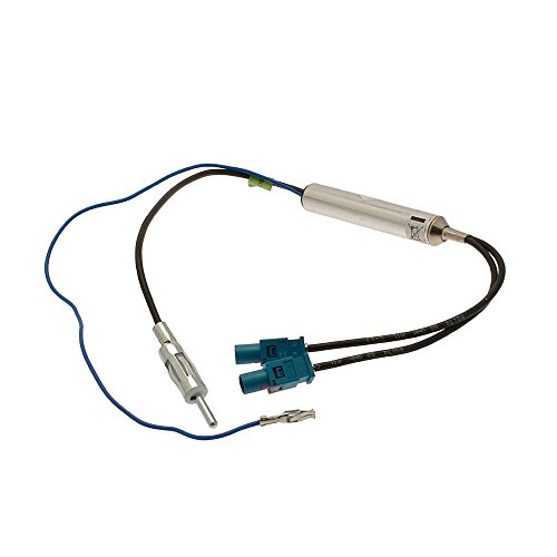 VW, Audi, Seat, Skoda Antenna Adapter, Aerial Adapter Diplexer dual (Diplexer Single)
