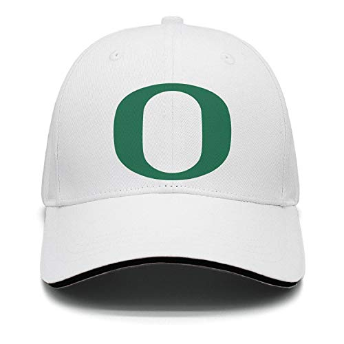 Mens Womens Stylish White Hiphop Adjustable Snapbacks Dad Cap Hat