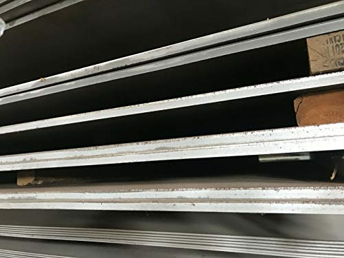 9//16 Width ASTM A36 9//16 Thickness Annealed//Precision Ground 24 Length 9//16 Thickness 9//16 Width 24 Length 55000 A36 Steel Sheet