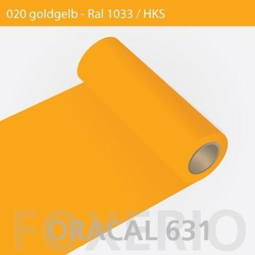 Orafol – Oracal 631 – 63 cm Rollo – 15 M (Metro) – Oro Amarillo ...