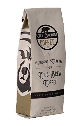 Pioneer Blend: Uniquely Crafted Cold Brew Coffee Beans- Whole Bean Low Acidity Coffee- Micro Roasted- 100% Arabica Coffee