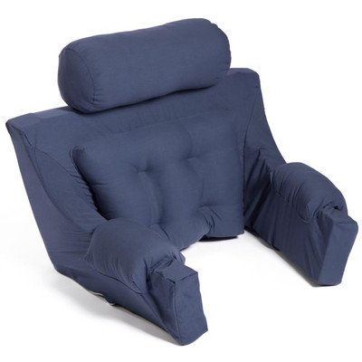 Deluxe Lounger Backrest Color: Navy by Hermell Softeze (Image #1)