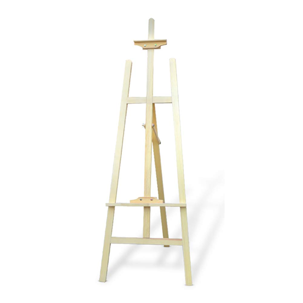 イーゼル ウッドキッズアートペイントスタンドイーゼル1.5 M木製スケッチ三脚ディスプレイイーゼルポータブル折りたたみアクティビティディスプレイラック (色 : 木の色, サイズ さいず : Style-1) Style-1 木の色 B07GN3N8SS